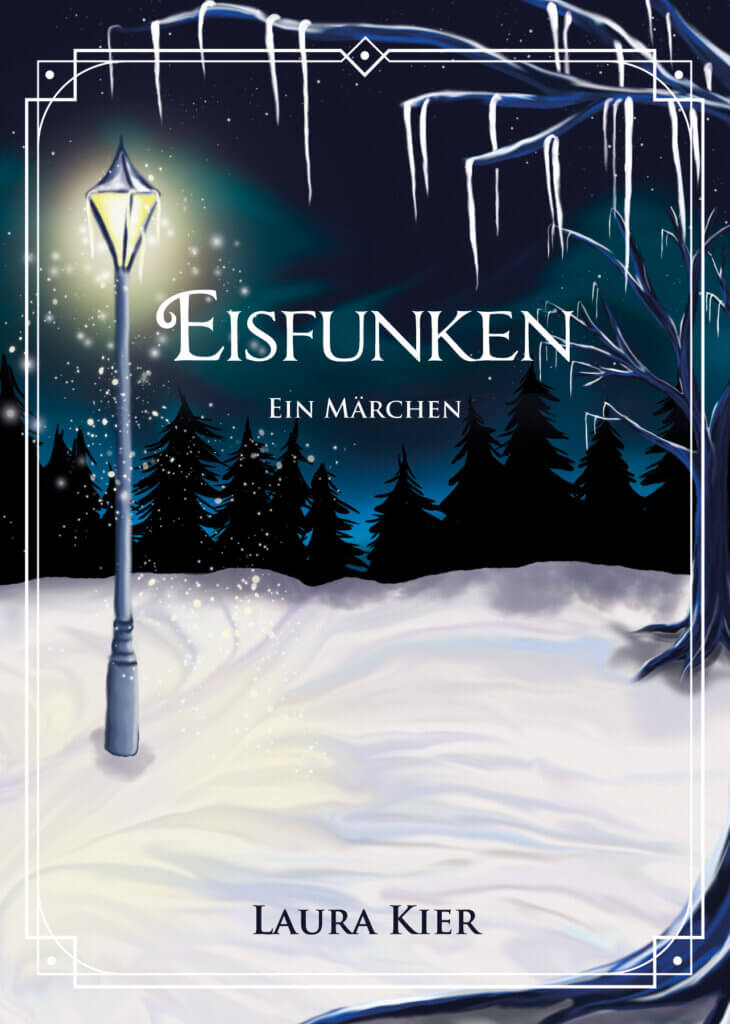 Cover Eisfunken Digital Painting